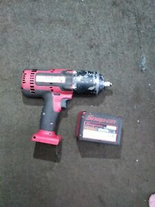 Snap On 1 2 Impact Wrench W Battery
