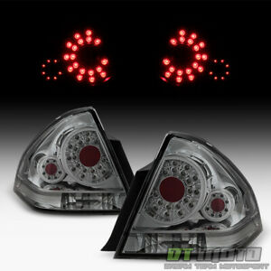 Smoke 2006 2013 Chevy Impala Ss Smd Led Tail Lights Brake Lamps 06 13 Left right