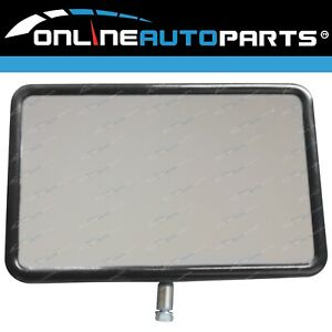 Brand New Universal Fit Mirror Head Caravans Towing Horse Floats And Rv Vehicles