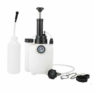 Brake Bleeder Clutch System Fluid Power Bleeder Kit With E20 Adapter 3l Capacity