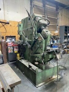60 Ton Hill Acme Ironworker Model 7 Serial 542357