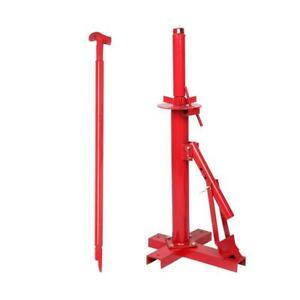 Red Tire Changer Bead Breaker Tool For Car Truck Trailer Manual Tire Machine