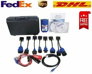 Nexiq 125032 With Box Link Diesel Heavy Duty Truck Diagnostic Tool Full Set New