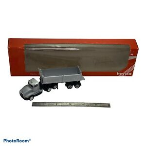 Promotex Herpa 1 87 Construction Truck And Trailer 6114 Ho