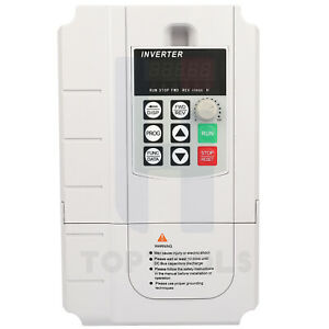 Ac 220v 30a 5 5kw Variable Frequency Drive Converter Speed Controller Converter
