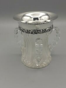 Tiffany And Co 3 Handled Loving Cup With Silver Rim