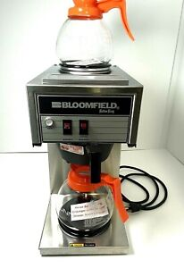 Bloomfield 2 burner Commercial Coffee Maker Brewer Model 8543