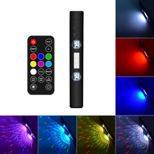 Car Interior Roof Led Usb Star Light Atmosphere Projector Lamp Multi color
