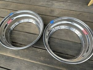 2 X Bbs E50 E51 E52 E26 E87 Motorsport 20 Hole 16x5 0 Outer Lips New Polished