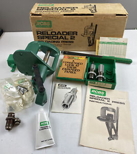 RCBS Reloader Special 2 Reloading Press With Accessories In Original Box $199.99