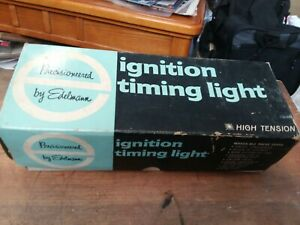 Edelmann Ignition Timing Light 6 12 24 Volts System W Box
