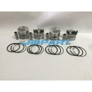 New 5k Piston Kit With Piston Rings Fit For Toyota Engine Parts