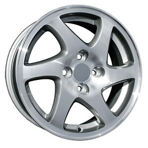 71682 Reconditioned Oem Acura Integra 1998 01 15 Inch Wheel Machined W Charcoal