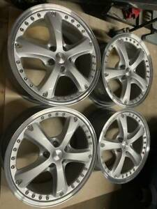 18 2 Piece Oz Vela Ii Wheels Amazing Condition