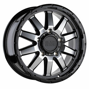 17x7 5 Wheel Rim Black Rhino Excursion Gloss Black 45mm 5x130