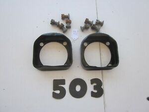 1939 48 Ford Hyd Juice Brake Backing Plate Grease Shields And Bolts