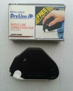 Refillable Dryline Single Line Correction Film 1 6in X 472in Liquid Paper 063 95
