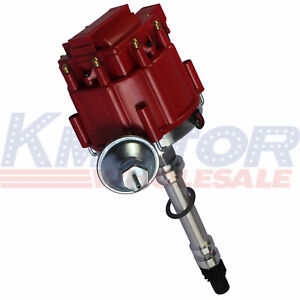 High Performance Hei Distributor Red Cap For Chevy Gm Small Block Big Block 65k