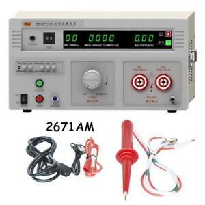 New Appearance Necessary Instrument Withstand Hi pot Tester 10kv 100va 2671am