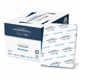 Hammermill Business Copy Paper 20lb 92 Bright 8 1 2 X 11 10 Ream Case