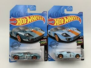 2020 Hot Wheels Super Treasure Hunt Ford Gt 40 W Reg Mainline Protector Pack