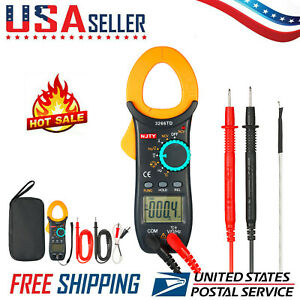 3266td Digital Clamp Meter Tester Ac dc Auto Ranging Multimeter With Ncv B1l4