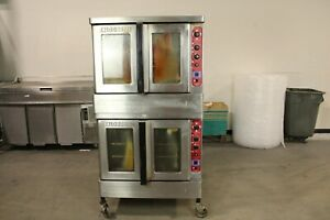 Blodgett Dfg 200 Double Full Size Commercial Gas Convection Oven 60k 80k Btu
