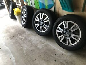 2019 Toyota Tundra 1794 Wheels And Tires Wheels Mint 20x8