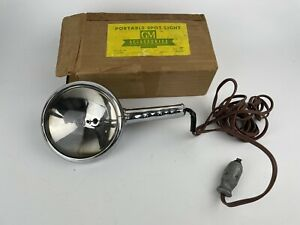 1937 1952 Chevrolet Car Truck 6v Gm Nos Portable Spot Light Pt 986555