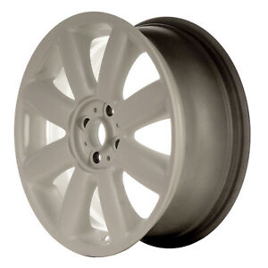 71195 Refinished Mini Cooper 2007 2012 17 Inch Wheel Rim Oe Painted White