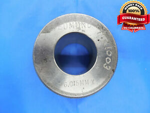 26 015 Class X Master Plain Bore Ring Gage 26 000 015 Oversize 26 Mm 1 0242