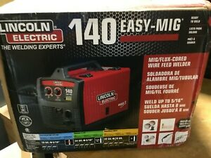 Lincoln Electric Easy Mig 140 120 V Ac Input Compact Wire Welder Lewk2697 1