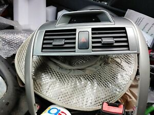 09 13 Toyota Corolla Front Center Dash Bezel W Vents Clock Oem 55670 02190