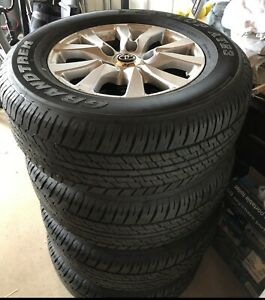 Wheels And Tires Toyota Land Cruiser Take Offs No Tpms And No Lug Nuts