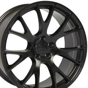 Satin Black 20 Replacement Wheel Dodge Charger Challenger 2006 2019