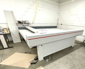 Z nd Model P 2000 Digital Cnc Flatbed Plotter Cutter as Is Where Is