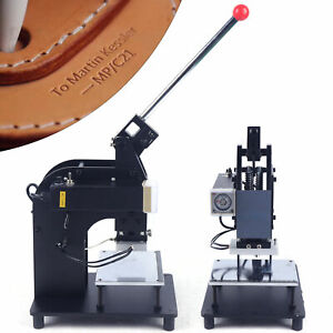 New 110v Hot Foil Stamping Machine Leather Plastic Stamping Machine 100 150mm