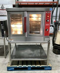 Vulcan Vc4gd Natural Gas Single Deck Full Size Convection Oven