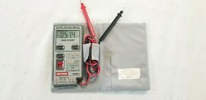 Vintage Craftsman Pocket Dmm Multimeter Autoranging Model 82061 Euc Pocket Size