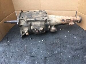 Ford 1978 4 Speed Topload Good Transmission Tag Rug Cd D8trma 3 W Overdrive