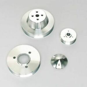 March Performance 7610 Pulley Set Serpentine Aluminum For Chevy Big Block New
