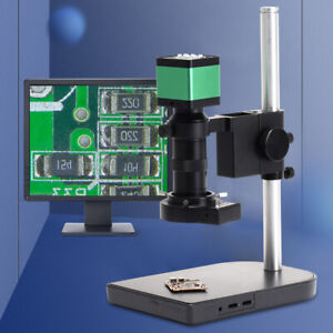 Hdmi Usb 60fps Digital Zoom Industrial Microscope Camera With 100x C mount Lens