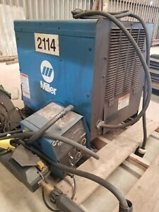 Mig Welder Package Miller Cp 302 With Wire Feeder S 60 Series 3 Phase Power