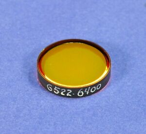25 Mm Dia 640 Nm Bandpass Filter andover Laser Optical Interference Avlis