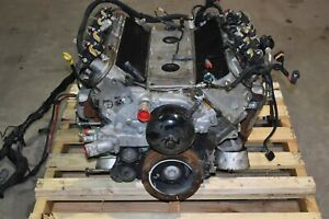 2001 Corvette C5 Long Block Engine Ls1 Drop Out 5 7 350hp 128k Aa6744