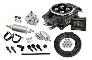 Msd 2900 2bk Atomic Efi 2 Tbi With 865 Cfm With Pump Kit Supports Up To 650 Hp
