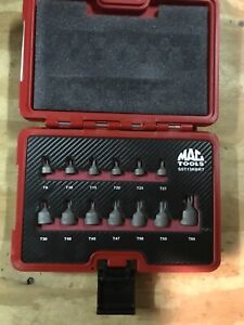 Mac Tools 13 Piece Super Stubby R B R T Advanced Star Driver Set