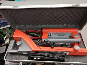Metrotech 9890 Sfl xt Cable pipe Locator Utility Underground Tracer Fault Find