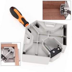 90 Corner Clamp Right Angle Woodworking Vice Wood Metal Welding Tools New Top