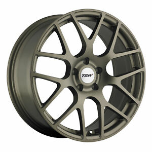 19x10 5 Wheel Rim Tsw Nurburgring Bronze 27mm 5x4 72